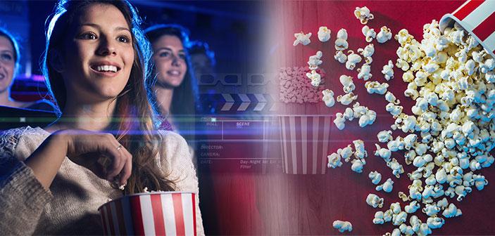 biograftur og popcorn