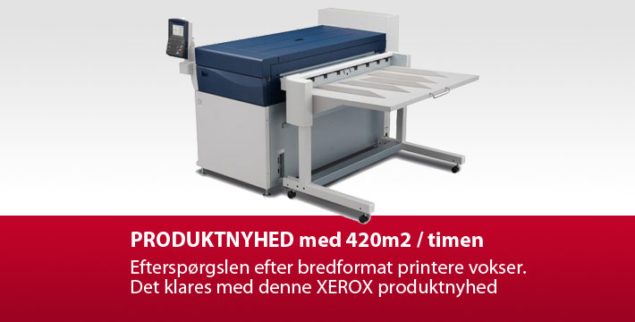 Produktnyhed Xerox bredformat printer: IJP 2000